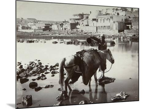 A Watering Place, 1880S-Dmitri Ivanovich Yermakov-Mounted Photographic Print