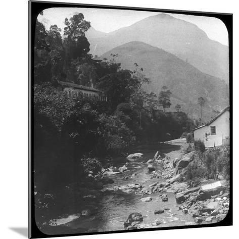 Near Petrópolis, Rio De Janeiro, Brazil, Late 19th or Early 20th Century--Mounted Photographic Print