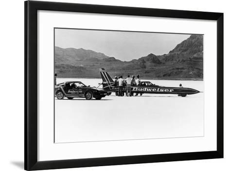 Budweiser Rocket, USA, 1979--Framed Art Print