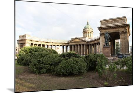 Kazan Cathedral, St Petersburg, Russia, 2011-Sheldon Marshall-Mounted Photographic Print