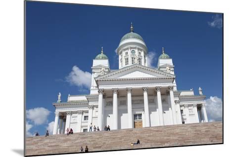 Lutheran Cathedral, Helsinki, Finland, 2011-Sheldon Marshall-Mounted Photographic Print