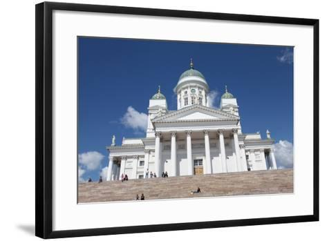 Lutheran Cathedral, Helsinki, Finland, 2011-Sheldon Marshall-Framed Art Print