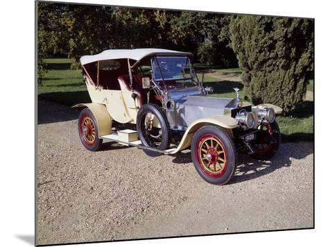 1909 Rolls-Royce Silver Ghost--Mounted Photographic Print