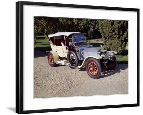 1909 Rolls-Royce Silver Ghost--Framed Art Print