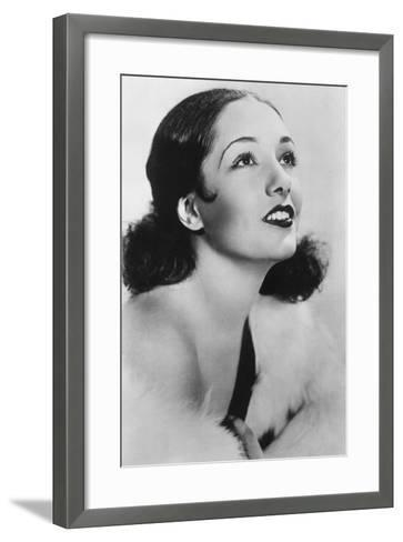 Lupe Velez (1908-194), Mexican Actress, 20th Century--Framed Art Print