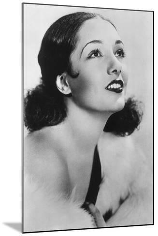 Lupe Velez (1908-194), Mexican Actress, 20th Century--Mounted Photographic Print