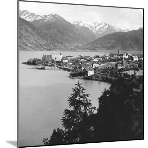 Zell Am See, Salzburg, Austria, C1900s-Wurthle & Sons-Mounted Photographic Print