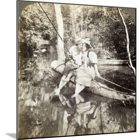A Fishing Smack-Underwood & Underwood-Mounted Photographic Print