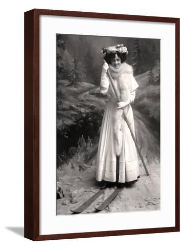 Gertie Millar (1879-195), English Actress, 1906-Foulsham and Banfield-Framed Art Print