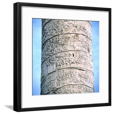 Trajan's Column, Rome, 106-113--Framed Art Print