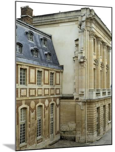 Dufour House Seen from the South, Chateau De Versailles, France--Mounted Photographic Print