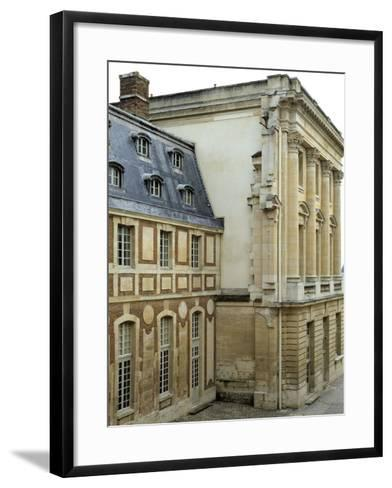 Dufour House Seen from the South, Chateau De Versailles, France--Framed Art Print