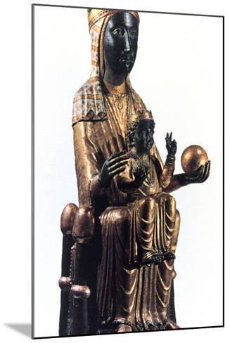 Virgin of Montserrat, Catalonia, Spain--Mounted Photographic Print