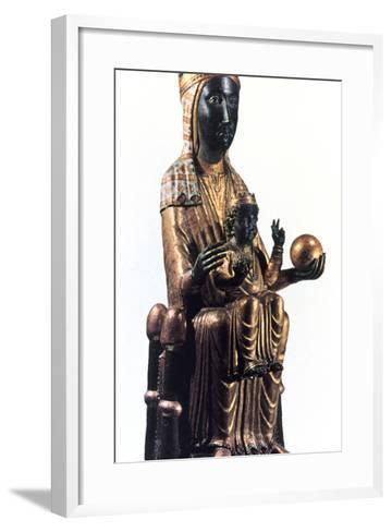 Virgin of Montserrat, Catalonia, Spain--Framed Art Print
