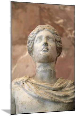 Statue of Apollo, Roman, 1st Century, Restored in the 18th Century--Mounted Photographic Print