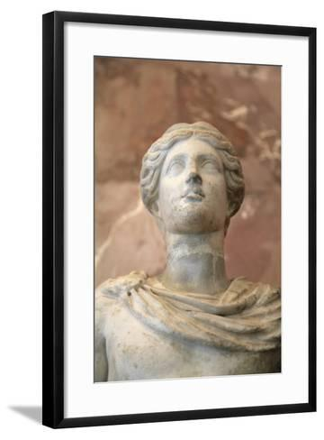 Statue of Apollo, Roman, 1st Century, Restored in the 18th Century--Framed Art Print