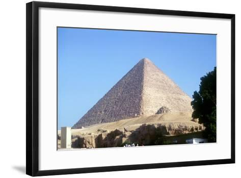Great Pyramid of Cheops at Giza, Egypt, 4th Dynasty, Old Kingdom, 26th Century Bc--Framed Art Print