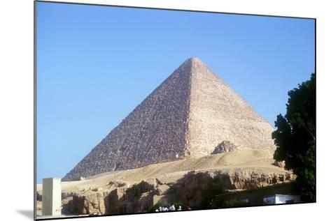 Great Pyramid of Cheops at Giza, Egypt, 4th Dynasty, Old Kingdom, 26th Century Bc--Mounted Photographic Print