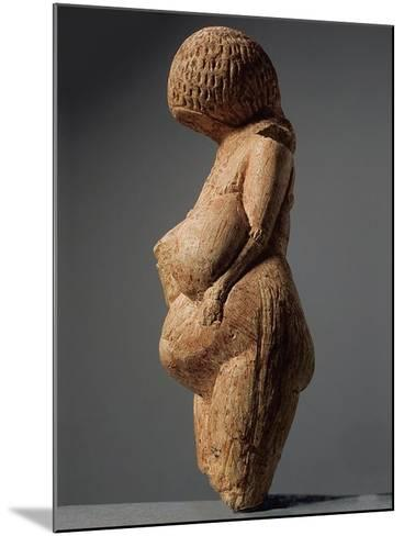 Female Figurine (Venus of Kostenk), 23,000-21,000 BC--Mounted Photographic Print