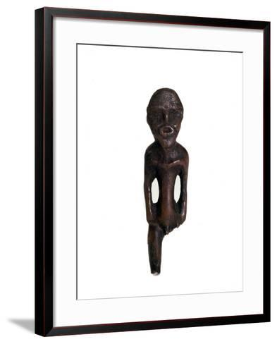 Idol Carved from Elk Antler, Russian Forest Cultures, 1st Half of 2nd Millenium Bc--Framed Art Print