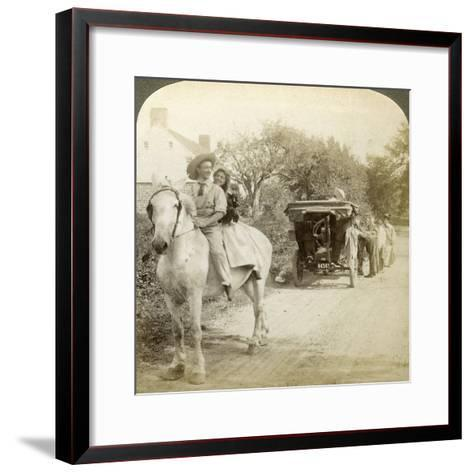 The Old Time Sparking Plug Is the Best after All-Underwood & Underwood-Framed Art Print