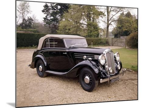 A 1937 Wolseley Super Six--Mounted Photographic Print