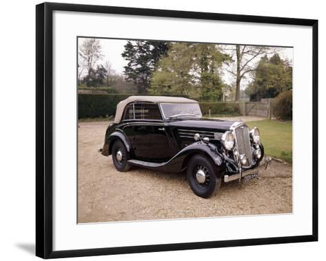 A 1937 Wolseley Super Six--Framed Art Print
