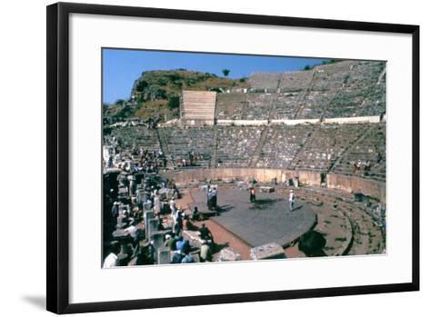 Roman Theatre, 41-54 Ad--Framed Art Print