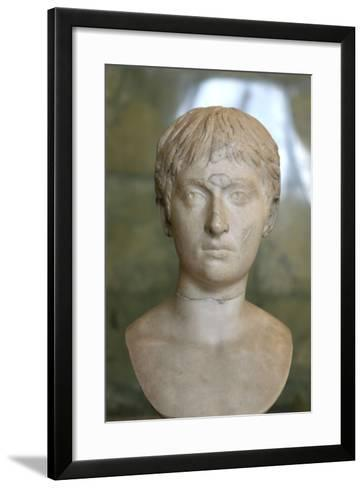 Portrait of a Youth, First Half of 2nd Century--Framed Art Print