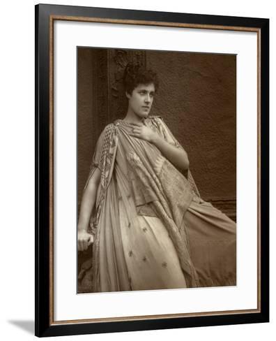 Julia Neilson, British Actress, 1888-Ernest Barraud-Framed Art Print
