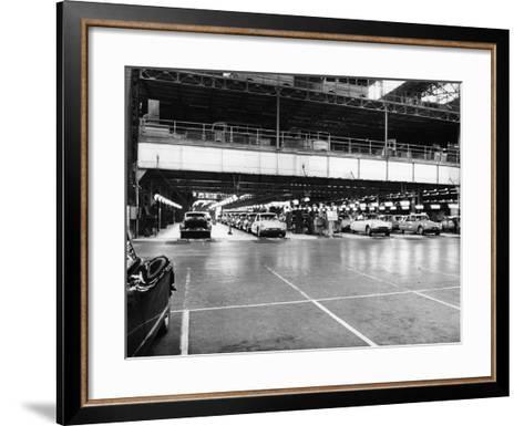 Citroen Production Line, 1960--Framed Art Print