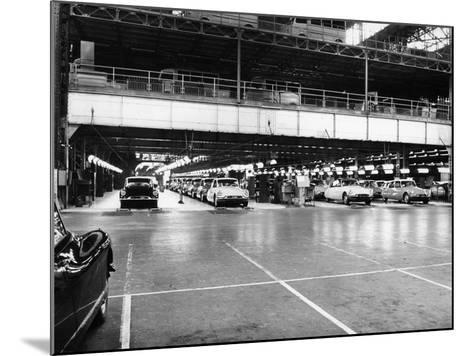 Citroen Production Line, 1960--Mounted Photographic Print