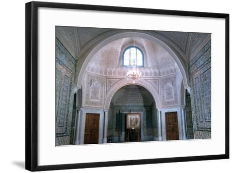 The Virgil Room, Bardo Museum, Tunisia--Framed Art Print