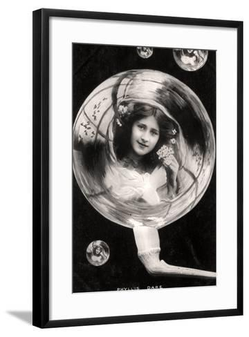 Phyllis Dare (1890-197), English Actress, 1907--Framed Art Print