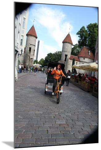 Viru Gate, Entrance to the Old Town, Tallin, Estonia, 2011-Sheldon Marshall-Mounted Photographic Print