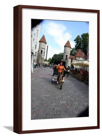 Viru Gate, Entrance to the Old Town, Tallin, Estonia, 2011-Sheldon Marshall-Framed Art Print