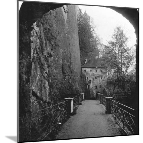 Sperrbogen, Hohensalzburg Fortress, Salzburg, Austria, C1900-Wurthle & Sons-Mounted Photographic Print