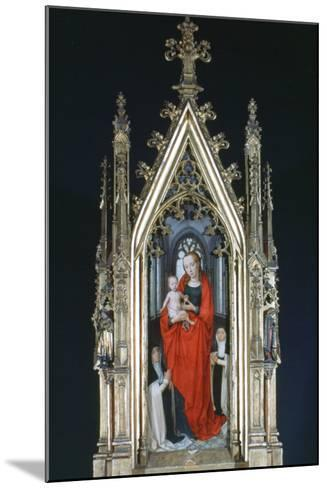 Virgin and Child, St Ursula Shrine, 1489-Hans Memling-Mounted Photographic Print