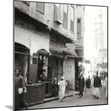 In the Darb-El-Ahmar, Cairo, Egypt, 20th Century-J Dearden Holmes-Mounted Photographic Print