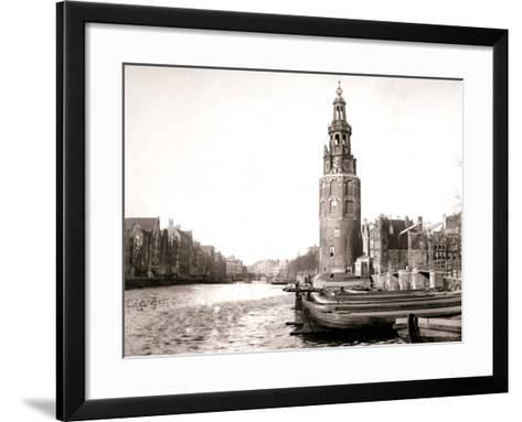 The Montelbaanstoren, Amsterdam, 1898-James Batkin-Framed Art Print