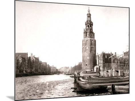 The Montelbaanstoren, Amsterdam, 1898-James Batkin-Mounted Photographic Print