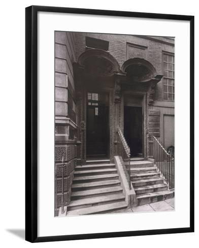 Doorways at Laurence Pountney Hill, London, 1884-Henry Dixon-Framed Art Print