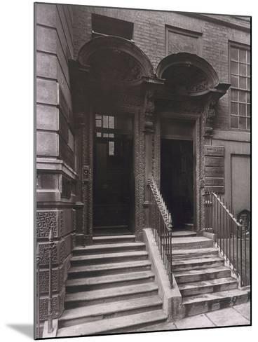 Doorways at Laurence Pountney Hill, London, 1884-Henry Dixon-Mounted Photographic Print