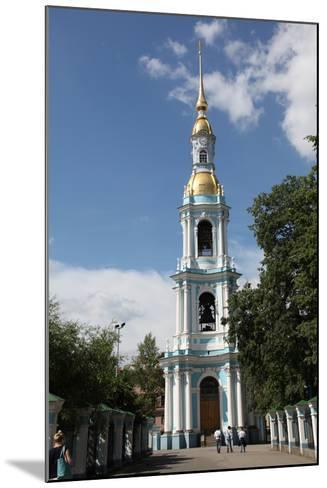 Bell Tower of St Nicholas Naval Cathedral, St Petersburg, Russia, 2011-Sheldon Marshall-Mounted Photographic Print