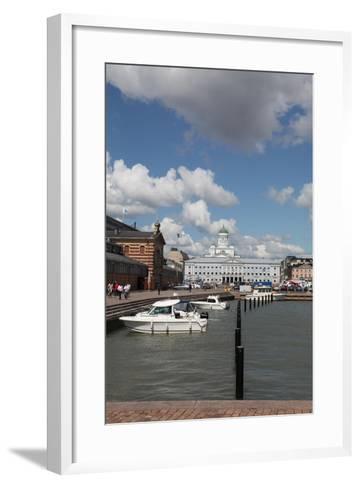 Market Square, Helsinki, Finland, 2011-Sheldon Marshall-Framed Art Print