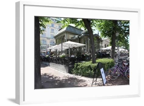 Esplanadi Park, Helsinki, Finland, 2011-Sheldon Marshall-Framed Art Print