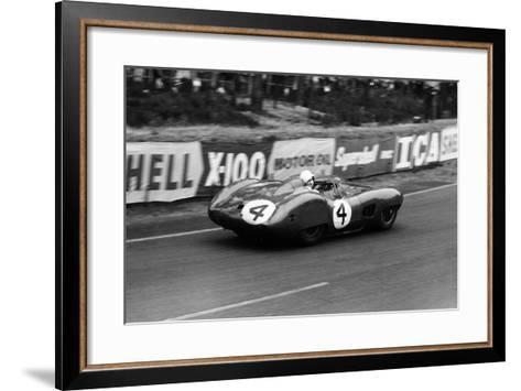 Stirling Moss in an Aston Martin Dbr1, Le Mans 24 Hours, France, 1959-Maxwell Boyd-Framed Art Print