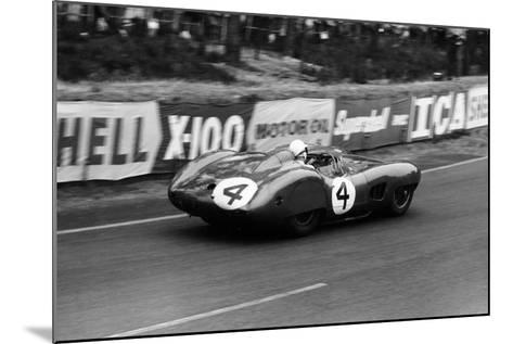 Stirling Moss in an Aston Martin Dbr1, Le Mans 24 Hours, France, 1959-Maxwell Boyd-Mounted Photographic Print