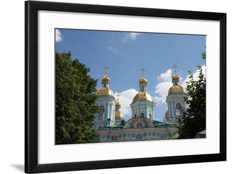 St Nicholas Naval Cathedral, St Petersburg, Russia, 2011-Sheldon Marshall-Framed Art Print