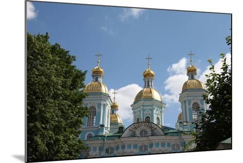 St Nicholas Naval Cathedral, St Petersburg, Russia, 2011-Sheldon Marshall-Mounted Photographic Print